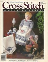 Cross Stitch and Country Crafts Magazine Jan/Feb 1991 25 Project Designs