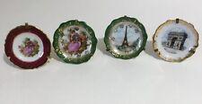 Limoges miniature plates