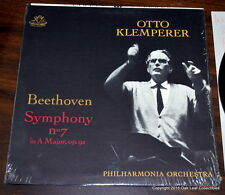 Beethoven Otto Klemperer Symphony No.7 Philharmonia Orchestra Angel Stereo 35945