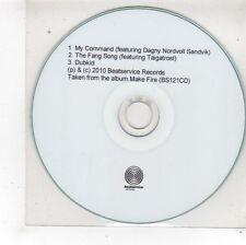 (FS437) Kohib, Make Fire 3 track sampler - 2010 DJ CD
