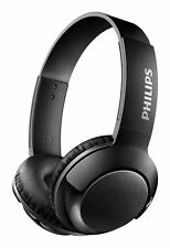 Philips Bass+ Black Over the Ear Headsets