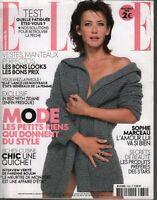 Elle French Fashion Magazine 6 Novembre 2009 Sophie Marceau 091819AME