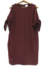 Reiss Polyester 3/4 Sleeve Dresses Midi