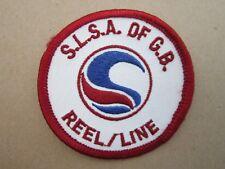 Reel Line SLSA Surf Life Saving Swimming Sport Cloth Patch Badge (L3K)