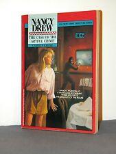 Nancy Drew Mystery #106 Case of the Artful Crime 1992 Minstrel Paperback 1st