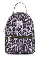 Herschel Nova Mini Backpack Rucksack Tasche Snow Leopard Grau Schwarz Neu
