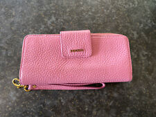 Fossil Zip Around Women's Leather Clutch/purse