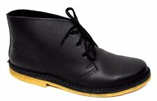 sz 6 US / EU 36 McKINLAYS NZ Black Desert Boots smooth leather shoes BNIB!