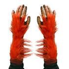 Orangutan Great Ape Hands Adult Halloween Costume Gloves