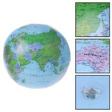 30CM Inflatable World Map Globe Balloon Beach Ball Education Geography Kid Toys