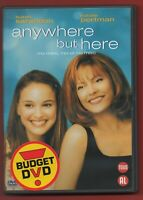 DVD - Anywhere But Here Con Susan Sarandon E Nathalie Portman