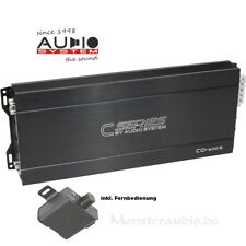 AUDIO SYSTEM CO-600.5 5-Kanal Auto PKW Endstufe 4 x 60 + 250 Watt/RMS 4 Ohm
