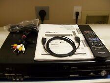 Panasonic DMR-EZ47V, MINT, HDMI VHS/DVD 1 Touch Dubbing Recorder w/Digital Tuner
