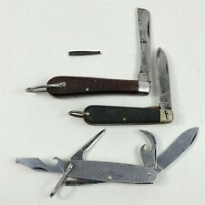 Camillus Pocket Knives USCG Approved 4 Blade - Project Lot - All Damaged