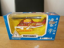 MATCHBOX ACTION AIR Fire Helicopter EM 13