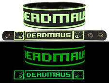 DEADMAU5 Rubber Bracelet Wristband 4x4=12 Album Title Goes Here Glow in the Dark