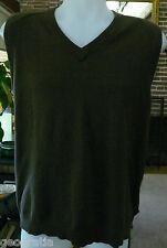 Woolrich Woolen Mills Green Knit Vest Size M