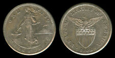 1 Peso 1908-S US Philippine Silver Coin  - Stock # 13