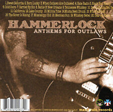 Anthems for Outlaws by Hammerlock (CD, Jul-2000, Man's Ruin) Nashville Pussy