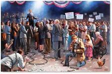 "10""X15"" Lithographic Print of artist Jon McNaughton's, ""Wake Up America"""