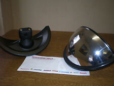 Tractor Fish Eye Mirror Curved Tractor Plant Commercial Vehicle Lorry Universal