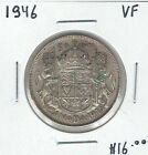 Canada 1946 Silver 50 Cents VF