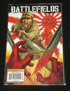 BattleFields: Dear Billy #1, 2 and 3 (of 3) [NM-] Dynamite (Garth Ennis)