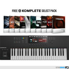 Native Instruments Komplete Kontrol S49 MK2 + Free Komplete Select, NI Keyboard