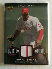 2006 UPPER DECK RYAN HOWARD OA-RH JERSEY PHILADELPHIA PHILLIES Baseball Card!