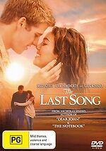 The Last Song * NEW DVD * Miley Cyrus Liam Hemsworth (Region 4 Australia)