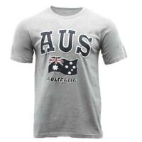 Adult T Shirt Australian Australia Day Souvenir Gift 100% Cotton - AUS Flag