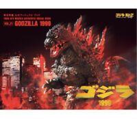 Toho SFX Movies Authentic Visual Book vol.21 Godzilla 1999 Godzilla Store Japan