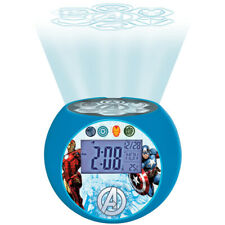 Lexibook RL975AV Avengers Radio with Projector Alarm Clock