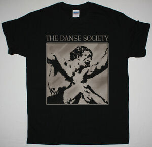 THE DANSE SOCIETY SEDUCTION BLACK T SHIRT GOTHIC ROCK DARKWAVE SYNTHPOP