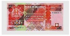 Uganda 50 scellini 1987  pick 30a  FDS lotto 37