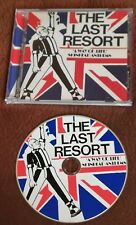 THE LAST RESORT A WAY OF LIFE SKINHEAD ANTHEMS  1993 CD PUNK OI