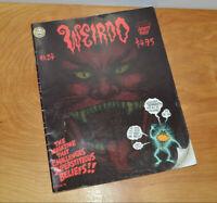 VINTAGE WEIRDO COMIC MAGAZINE #24 R. CRUMB 1988 LAST GASP UNDERGROUND SHOCK