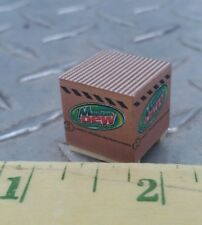 1/64 custom farm toy Pallet skid of mountain dew soda cans bottles s scale ertl