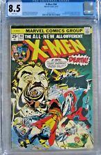 X-MEN #94 (NEW X-MEN BEGIN) CGC 8.5  LOOKS 9.0 WHITE PAGES MEGA MARVEL KEY ISSUE