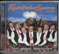 CD Kastelruther Spatzen `Herz gewinnt, verliert` Neu/New/OVP
