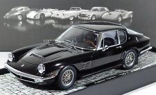 NEW MINICHAMPS 1:18 >> Maserati Mistral Coupe schwarz 250 Stück Baujahr 1963