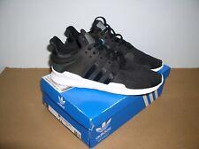 NIB Adidas Originals EQT Support ADV Black/Black Running Sneakers CP9557,Sz 12.5