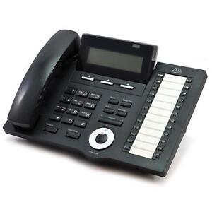Fully Refurbished Vodavi 3824-71 IP7024D 24-Button IP Display Phone (Black)