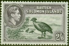 Solomon Islands 1939 2s6d Black & Violet SG70 V.F MNH