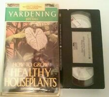 Yardening - How to Grow Healthy Houseplants (VHS)  Jeff Ball TESTED
