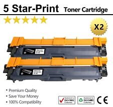 2X Toners TN251/ 255 for Brother HL-3170/3150CDW/9015 MFC-9140/9330/9335/9340CDW