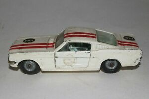 Corgi Toys #325, 1965 Ford Mustang 2+2 Fastback, Original