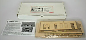 AMERICAN MODEL BUILDERS O SCALE CUMBRES STATION KIT #476 SEALED IN BOX MSRP $129