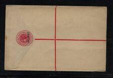 New South Wales  registered postal envelope  unused  revalued    MS0206