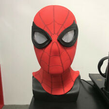 Spider-Man Far From Home Mask 3D Lenses PVC Hood Spiderman Masks Cosplay Props